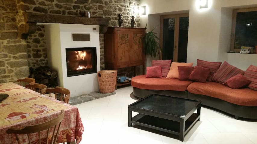 Comfortable and bright house in quiet aera - Saint-Pierre-de-Plesguen - Dom