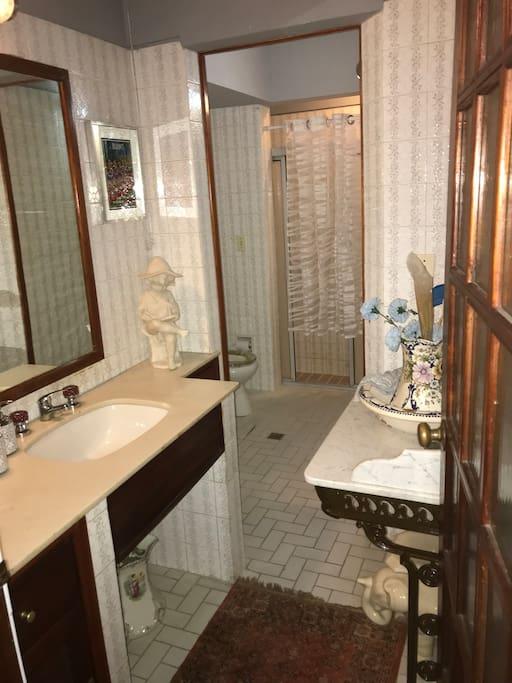 baño doble