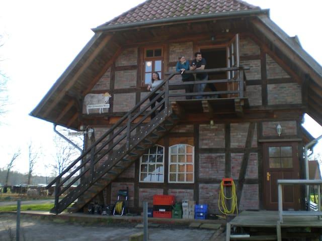 Ferien auf dem Hof Schwarzes Moor - Balge - Leilighet