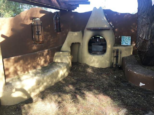 Backyard Chimenea