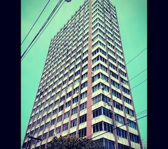 Quarto no Centro á 300mts da Pça Cívica - Setor Central - Apartmen