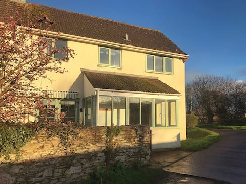 Rural cottage with Quantock views, Somerset