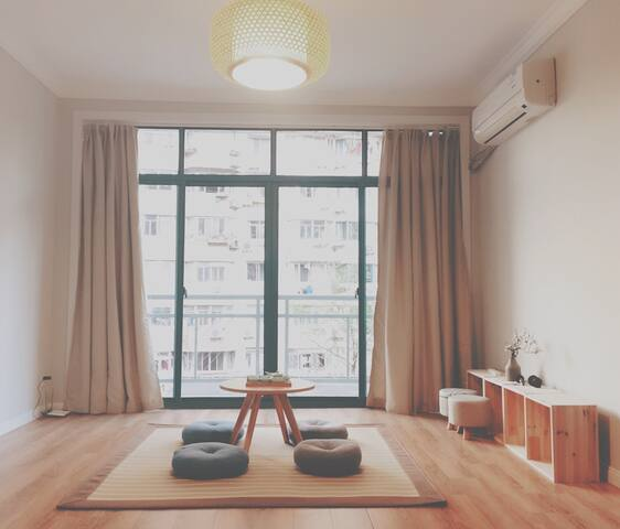 404B Homey room near French Concession|Metro L2/11 - Shanghái - Departamento