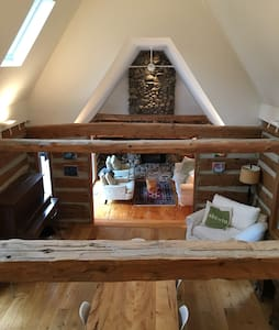 19th Century Luxury Log Cabin