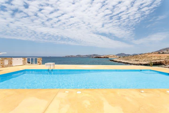 Paros Parasporos Villa by the sea