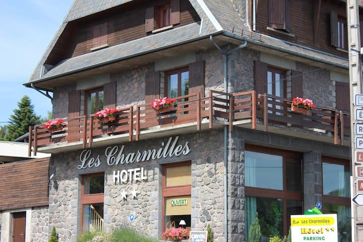 Chambre 2 personnes - Besse-et-Saint-Anastaise - ที่พักพร้อมอาหารเช้า