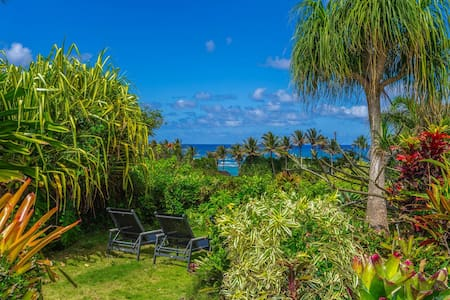 Kauai Garden w/ ocean views - TVNC #1149
