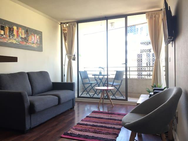 Cozy Apartment. Costanera Center Shopping Mall