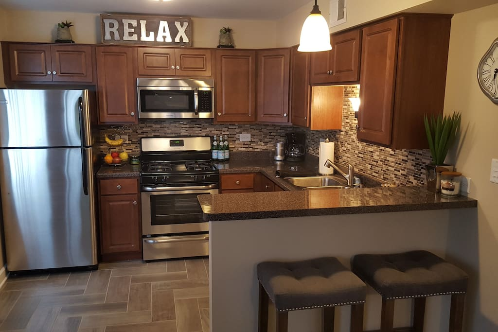 Warm Modern One Bedroom Close To It All Condominiums For Rent In Chicago