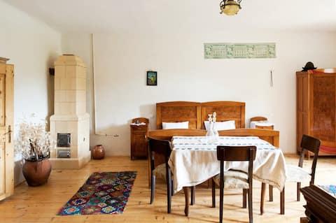 Bohemian Queen Size Room - authentic Saxon house