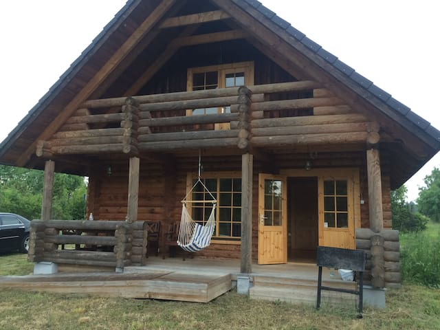 Small log house on beautiful Muhu island - Nautse - Cabin