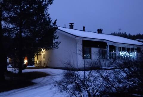Jämsä town center (Himos 7 km) saunallinen kaksio