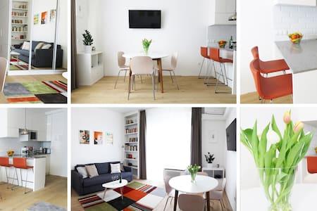 Luxury top floor studio near the river - Budapest - Wohnung