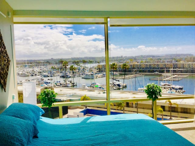 Unforgettable Marina View is right in front of you