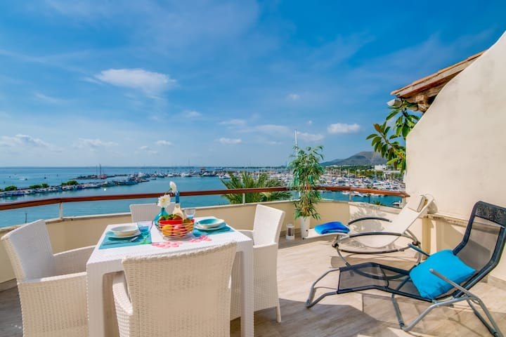 ☼ Blue Attic Beach - Fantastic views!