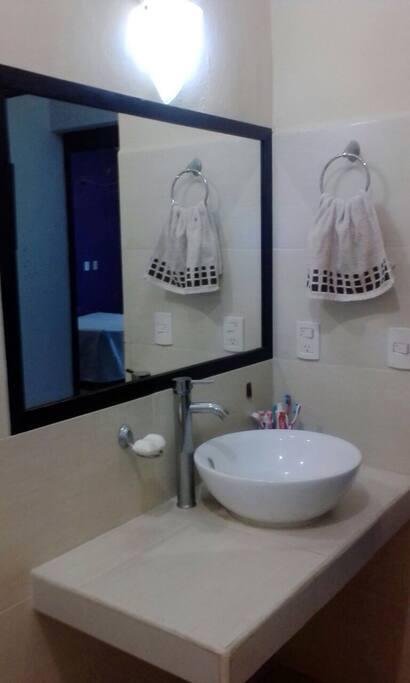 Dos baños para la familia