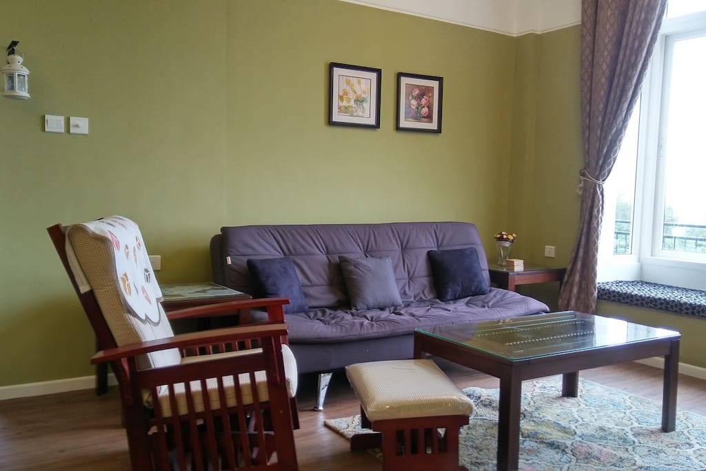 he LUXURY COTTAGE features 3 posh bedrooms, 3 washrooms, A full fledged kitchen, living & dining room