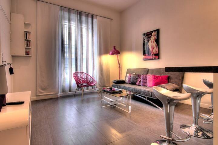 S1 :Amazing one bedroom - 5 min from le Palais