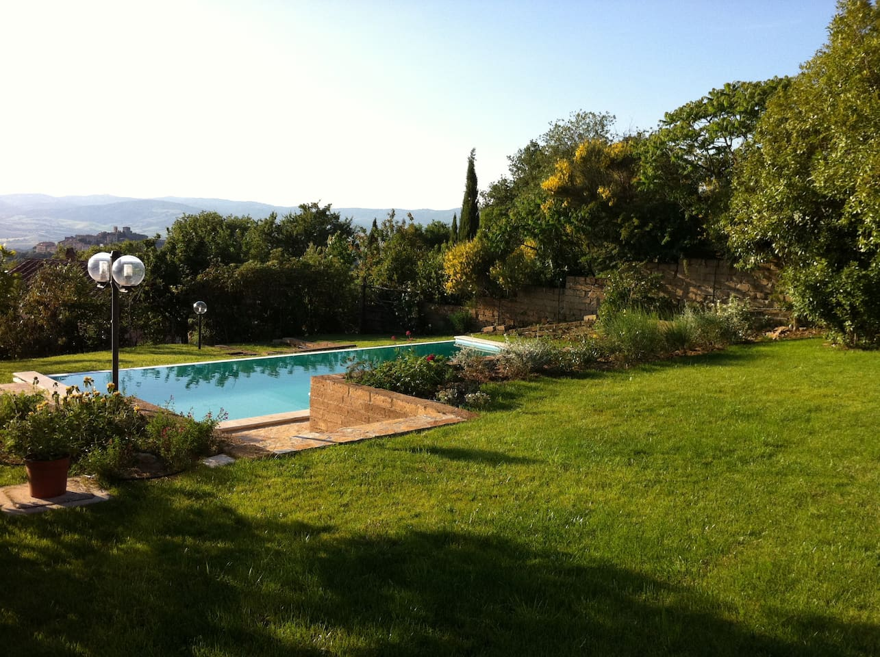 The Garden and private pool