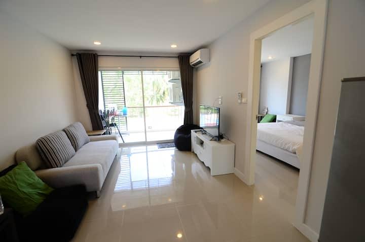 Studio 47sqm Garden&Seaview Room