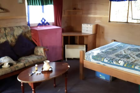 Delightful large cabin with wood-burner near town - Totnes