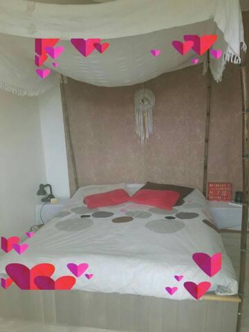 Maison Landes campagne/mer/ randonné Bed&Breakfast