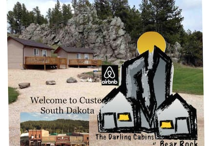 The Darling Cabins at Bear Rock #2 - Custer