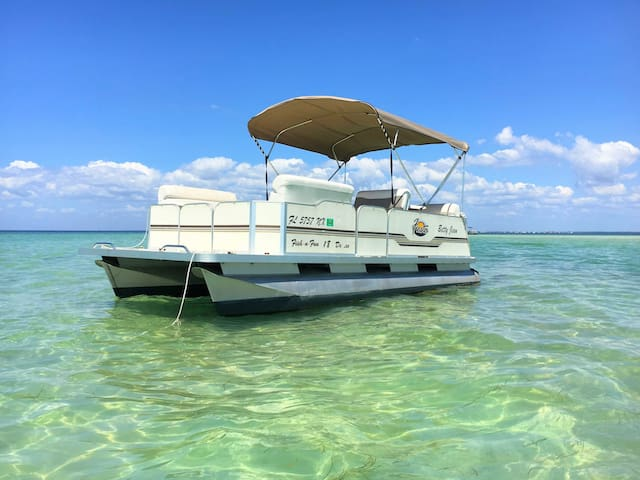 Free Pontoon Boat~Island Beach~Heated Pool