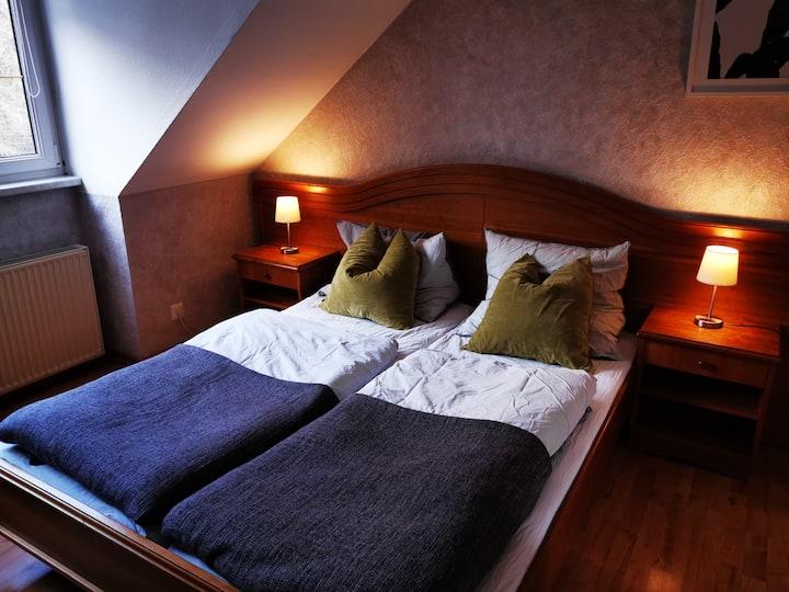 Doppelzimmer mit Waldblick Haus am Schützenplatz