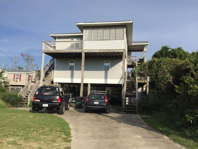 Frisco Hideaway-Rm 2- perfect for fishermen, twins
