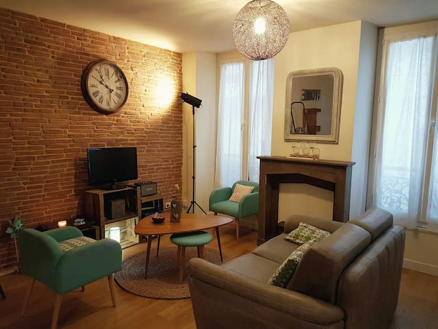 Lovely Flat in Downtown with safe car park. - Le Mans - Lejlighed