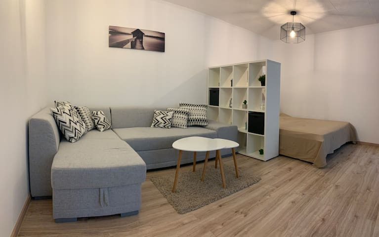 Chichi Apartment in Central City with Garden