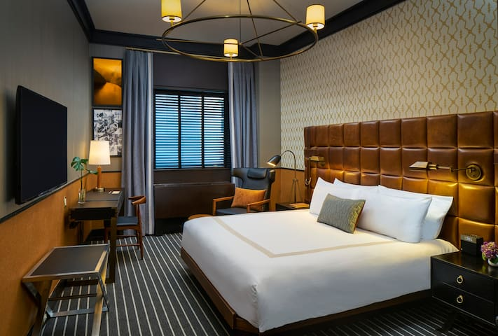 Gild Hall, Luxury King Room and Complimentary WiFi