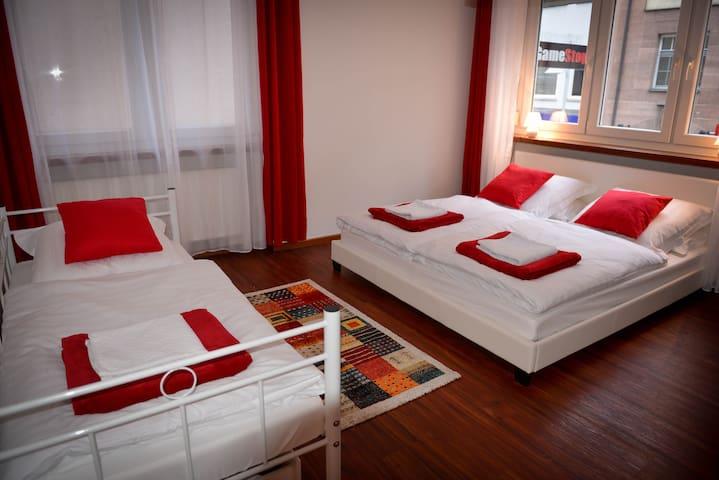 Sehr zentrale und ruhige 3-Zimmer-Wohnung Nürnberg
