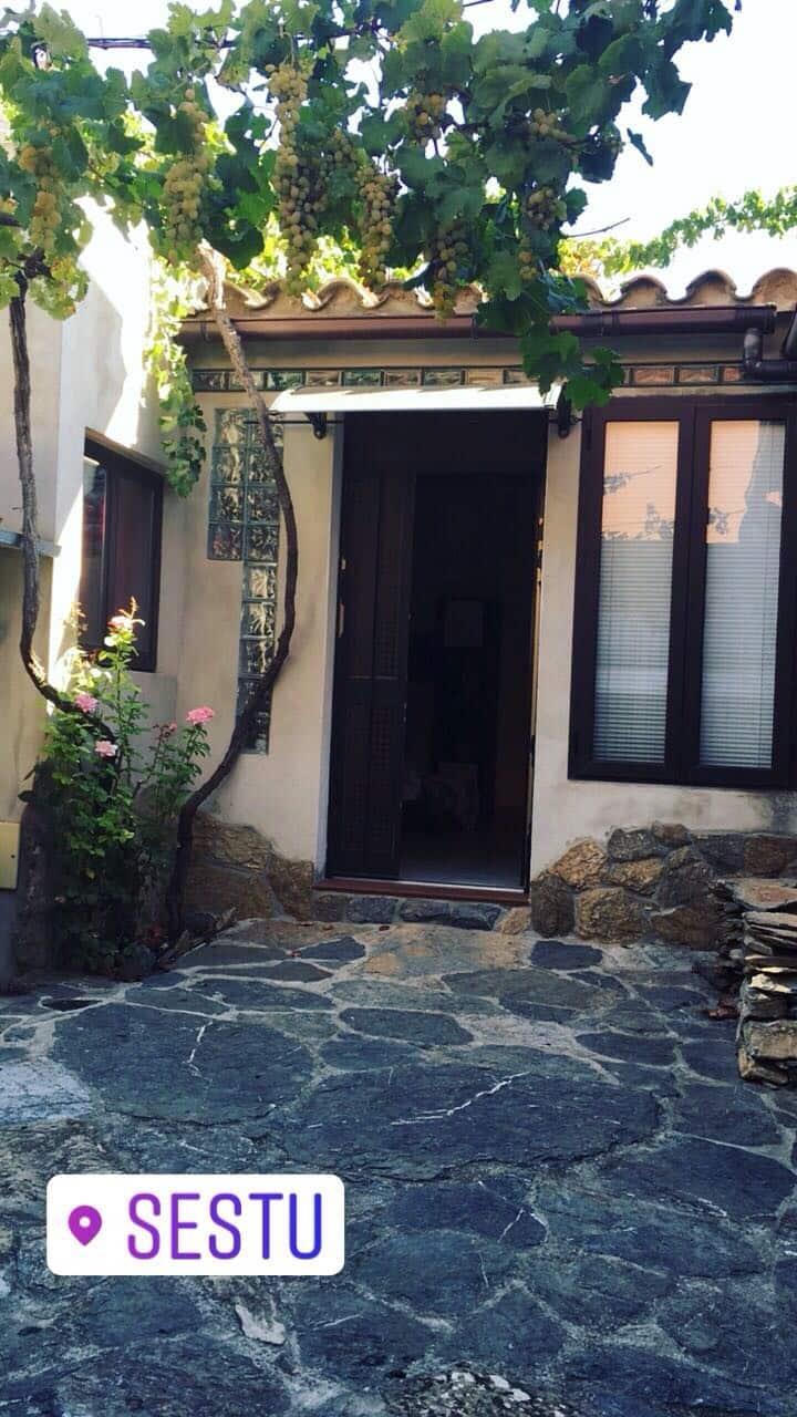 Lovely Sardinian home shelterd by grape vines