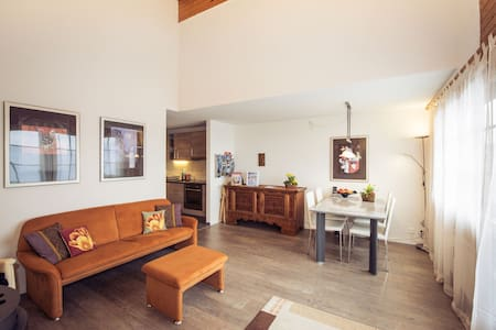 Comfort and alpine flair:  3 1/2-room-Apartment