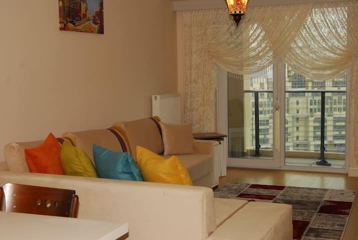 1 Yatak odası + 1 salon 85 m2 Kiralık Daire