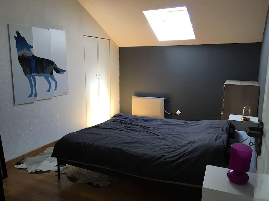 La chambre à l'étage
