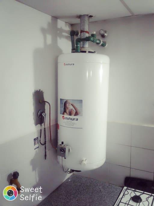 Proveedor de agua  caliente  para ducharse