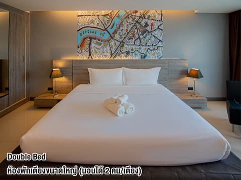 Modern room in Fortune D Hotel 15 mins from the airport