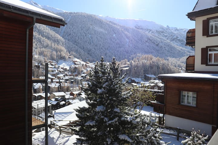 Winter view from guest balcony