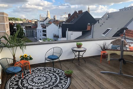 Well located cozy duplex with an amazing terrace