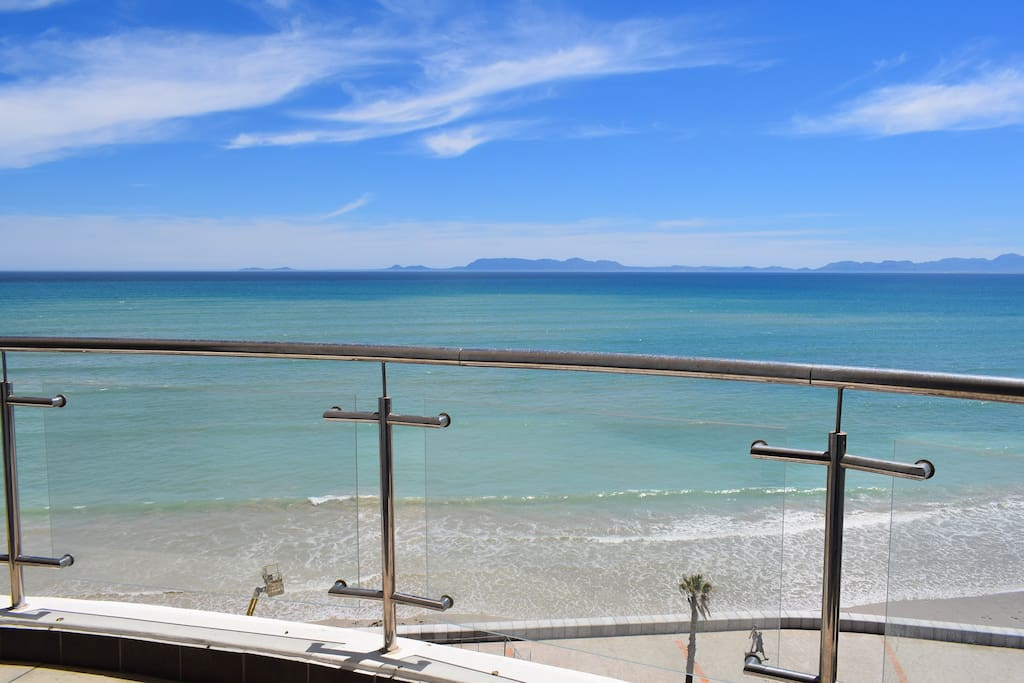View from Balcony Beach Below- Cape Point In The Distance