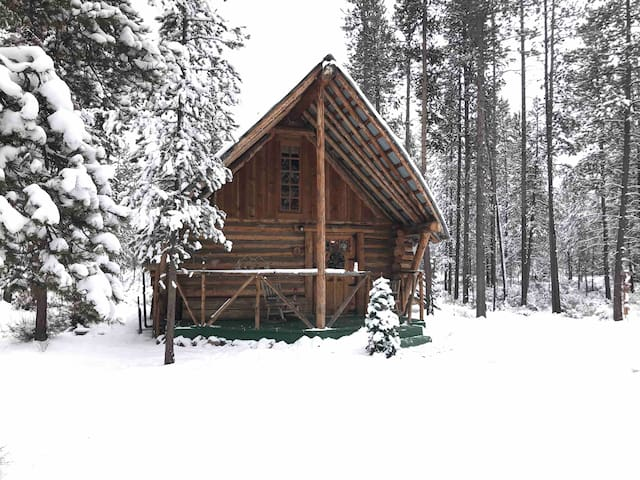 Usually have snow in winter, lots of land to snowmobile, cross country ski, snowshoe.  Bring your sleds!  Parking for trailers.