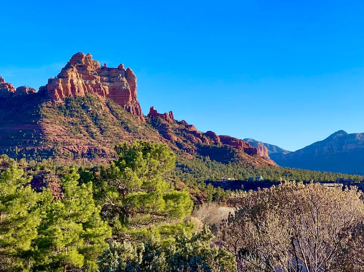 Breath GIVING Views in Uptown Sedona Townhome