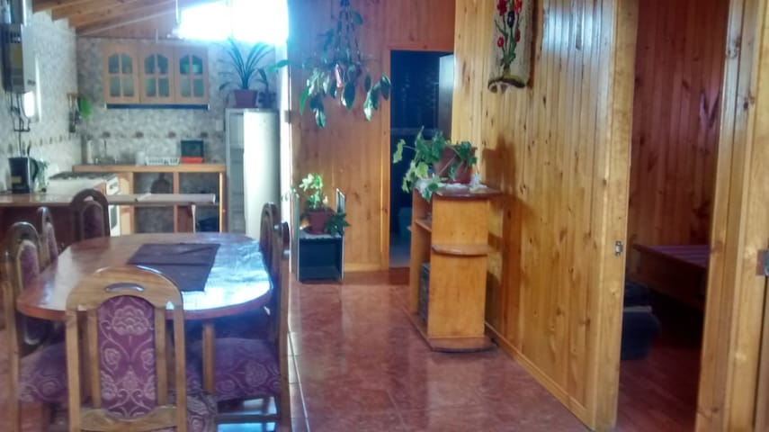 Casa Mar en Pelluhue   -Habitaciones