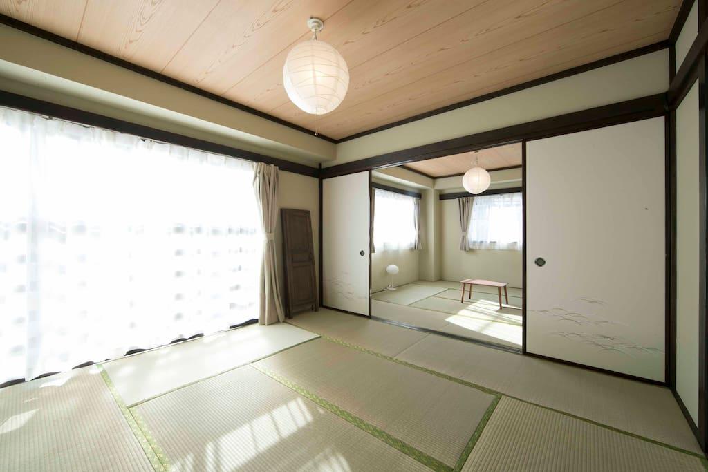 BED ROOM:Bright Tatami Room