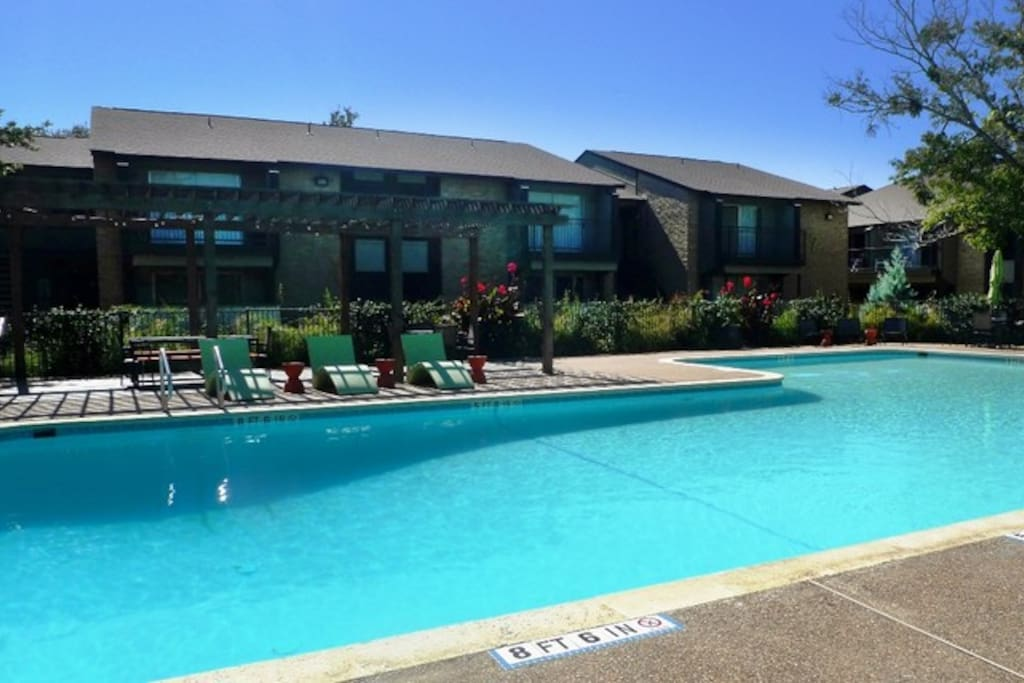 We have a large pool and its still in the 90s in Texas!