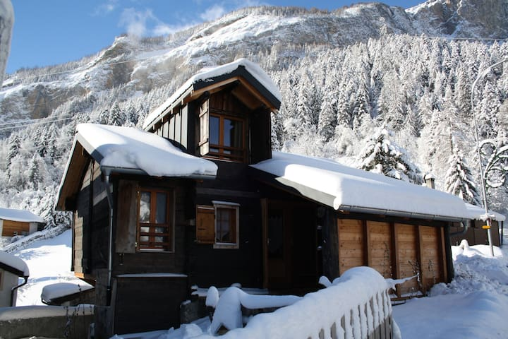 La Grange en hiver