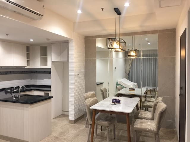 Nice and Compact 2 Bedroom Apart @Branz BSD